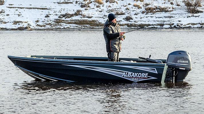 Наклейки на лодки Альбакор